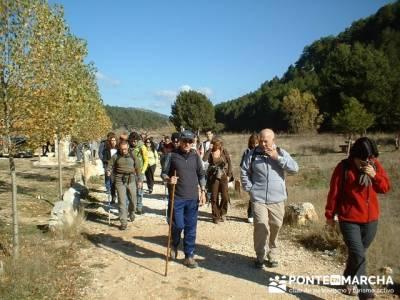 Ruta senderismo en el Cañón de Río Lobos;pueblos con encanto cerca de madrid